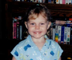 Picture of Elizabeth age 5